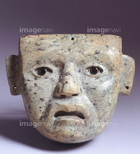 メキシコ国立人類学博物館 石 仮...