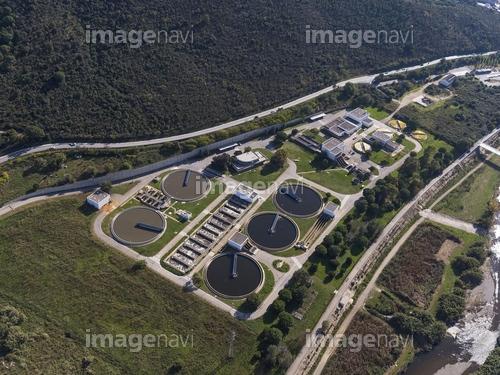 Water treatment plant. Montcada. BArcelona, Spain.