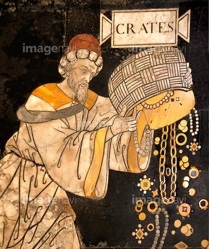 テーバイのクラテス 哲学者 古代...