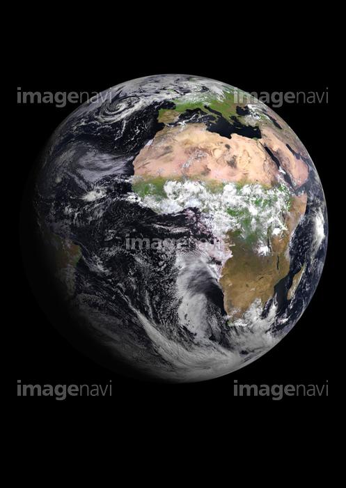 欧州宇宙機関 SEVIRI メテオサット第2世代 ヨーロッパ 気象学 地理学 ...