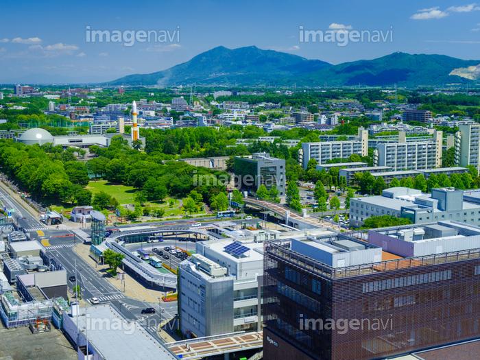 筑波研究学園都市と筑波山】の画像素材(70466371) | 写真素材なら ...